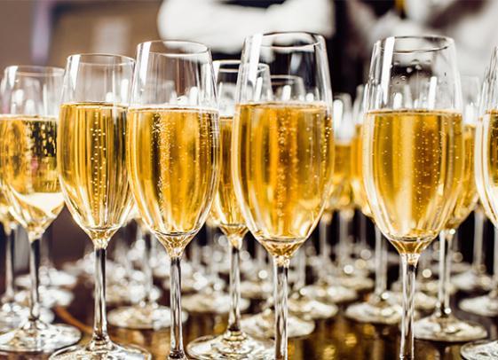 Vente de champagne